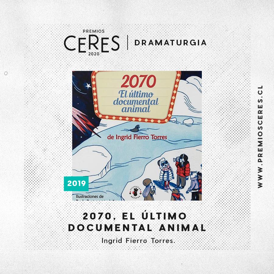 DRAMATURGIA 2020, El último documental animal