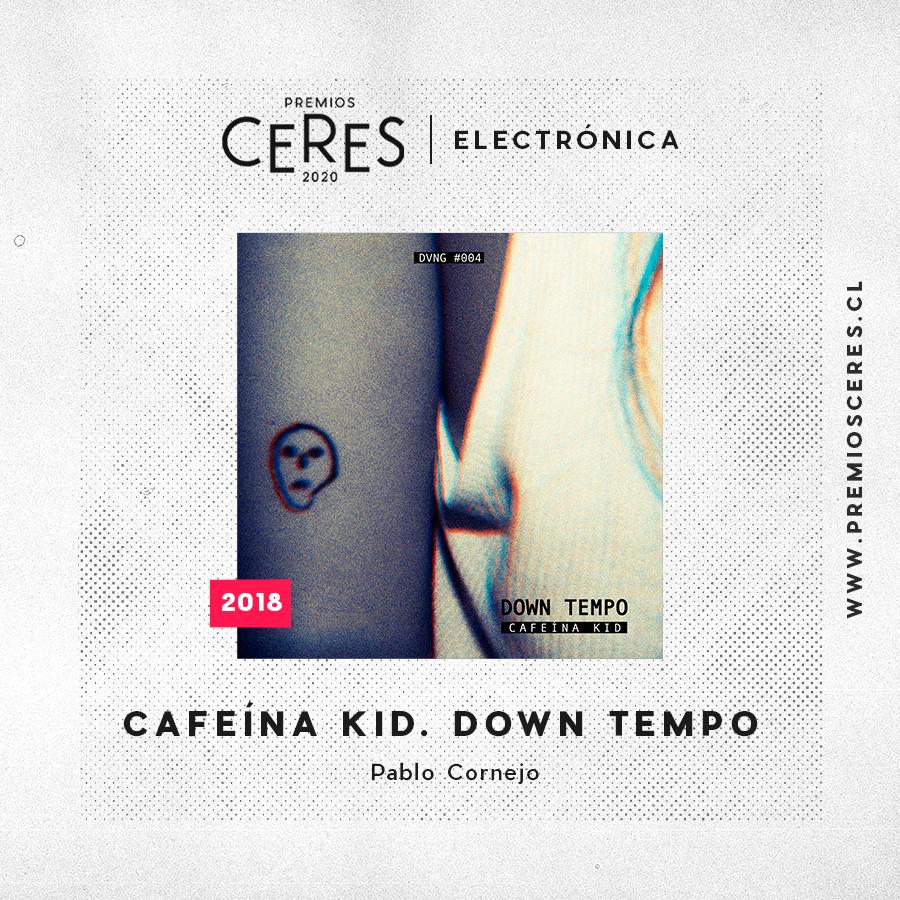 ELECTRONICA Cafeína Kid. Down Tempo