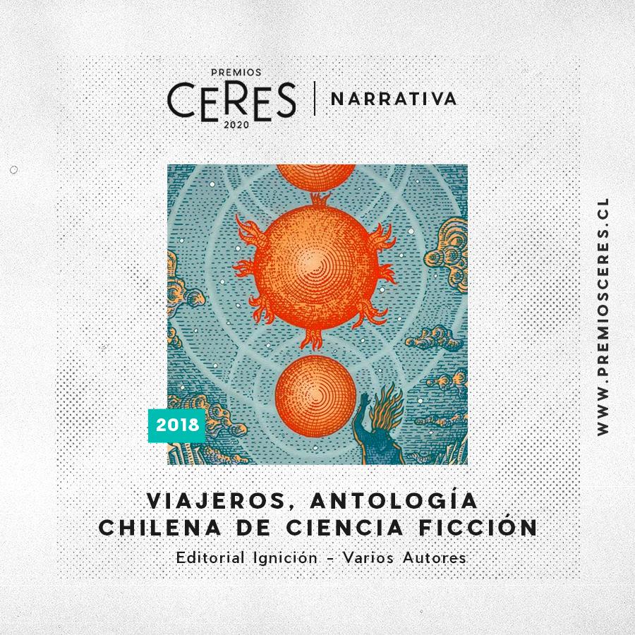 NARRATIVA Viajeros, Antología Chilena de Ciencia Ficción