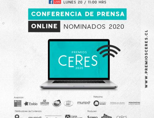 Conferencia de Prensa Ceres 2020