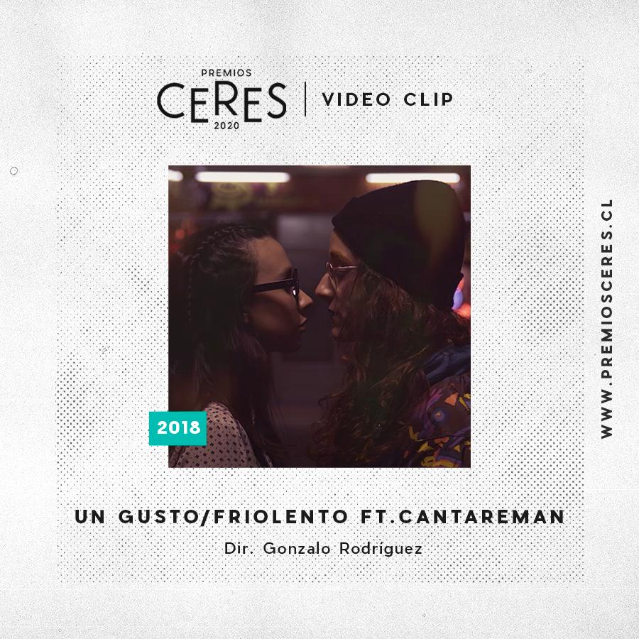 VIDEO CLIP Un gusto - Friolento ft.Cantareman