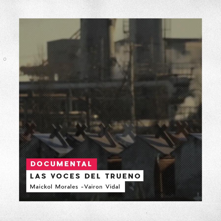 Las Voces del Trueno. Maickol Morales - Vairon Vidal