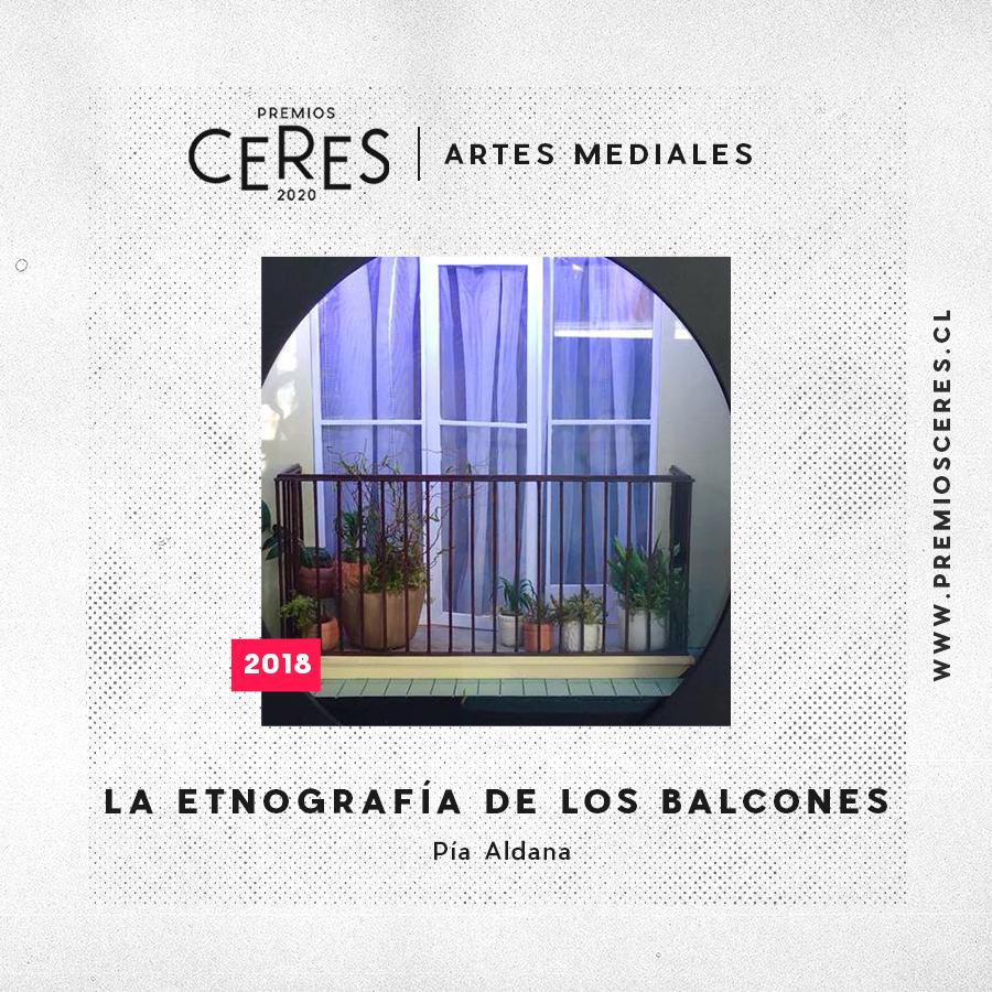 ARTES MEDIALES La etnografía de los balcones