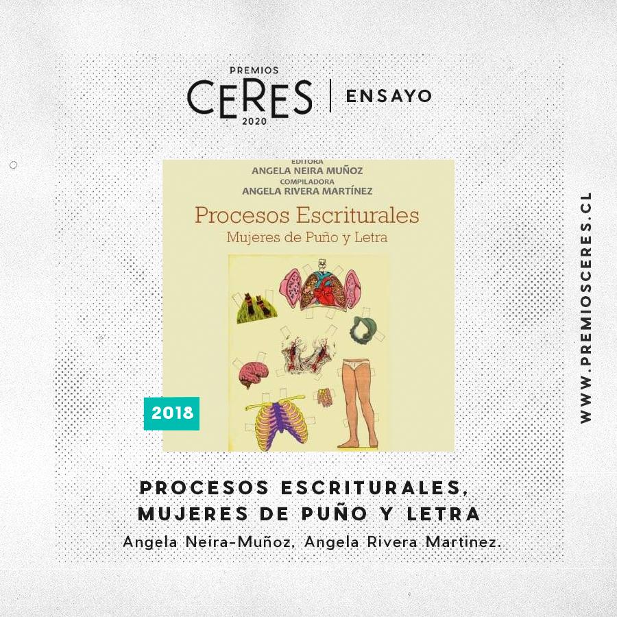 ENSAYO Procesos Escriturales, Mujeres de Puño y Letra