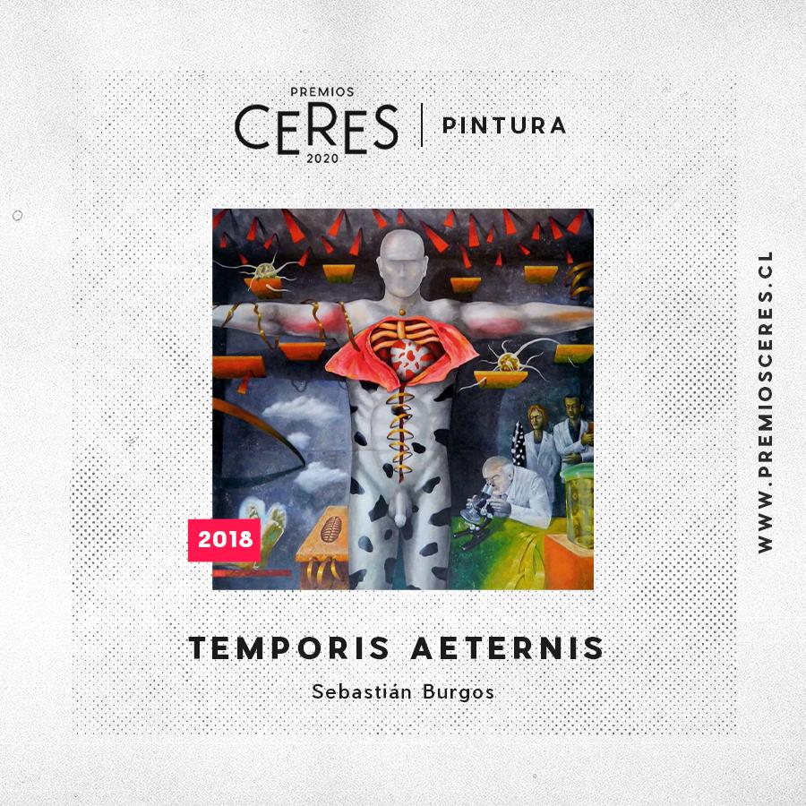 PINTURA Temporis Aeternis - Sebastián Burgos