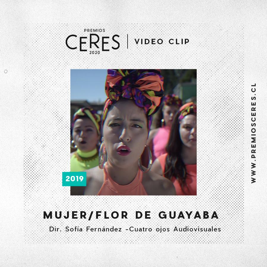 VIDEO CLIP Mujer - Flor de Guayaba